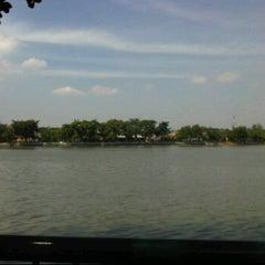 Photo taken at Kampung betawi situ babakan by Evy A. on 6/26/2011