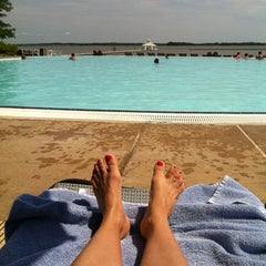 Photo taken at Pool @ Hyatt. by Alisa on 7/11/2012