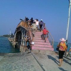 Photo taken at Jembatan Cinta by fenny s. on 9/7/2012