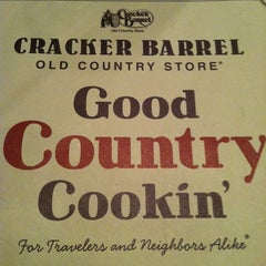Photo taken at Cracker Barrel Old Country Store by Justin B. on 3/3/2012