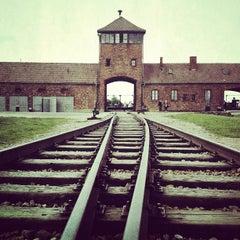 Photo taken at Muzeum Auschwitz-Birkenau by Jonathan N. on 6/26/2012