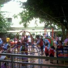 Photo taken at สนามเด็กเล่น สุวรรณวงศ์ by @7phattanin k. on 5/15/2012