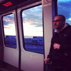 Photo taken at SFO AirTrain Station - Garage A by Vadim L. on 2/10/2012