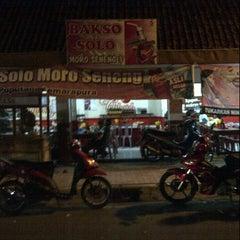 Photo taken at Bakso Solo by Yan J. on 7/26/2012