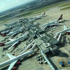 Photo taken at Terminal 3 by Keaton S. on 6/14/2012