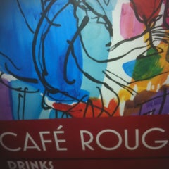 Photo taken at Café Rouge by Lynn W. on 5/16/2012