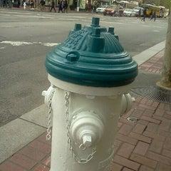 Photo taken at MUNI Bus Stop - 4th & Market by Jose C. on 4/9/2012