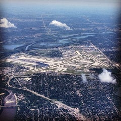 Photo taken at Minneapolis-St. Paul International Airport (MSP) by Jon C. on 6/22/2012