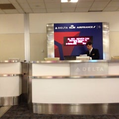Photo taken at Gate A26 by Chris N. on 3/30/2012