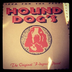Photo taken at Hounddog's Three Degree Pizza by Shay-Jahen M. on 5/20/2012