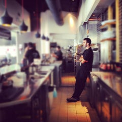 Photo taken at Wolfnights Chef Burger by Omer L. on 4/4/2012