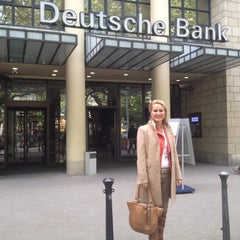 Photo taken at Deutsche Bank by Simone B. on 5/13/2012