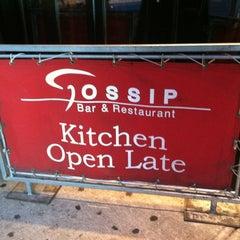 Photo taken at Gossip by Sousou B. on 8/28/2012