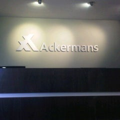 Photo taken at Ackermans Head Office by Ziyaad K. on 2/16/2012