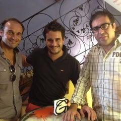 Photo taken at Gastro-Taberna El Gazpacho by Pepe J. on 8/8/2012