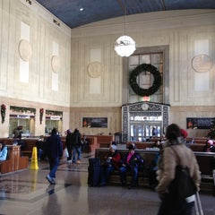 Photo taken at Newark Penn Station by StefanJ on 12/17/2011