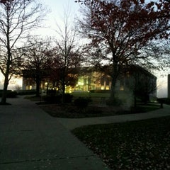Photo taken at WVU Evansdale Library by David R. on 11/2/2011