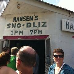 Photo taken at Hansen's Sno-Bliz by Davis S. on 3/19/2011