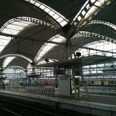 Photo taken at Station Leuven by Chris V. on 2/3/2011