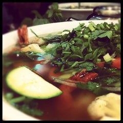 Photo taken at Pho Bang New York by Nicolas P. on 10/24/2011