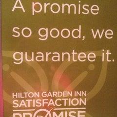 Photo taken at Hilton Garden Inn by Melissa T. on 7/16/2012