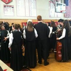 Photo taken at Masconomet Regional High School by Becca N. on 4/20/2012