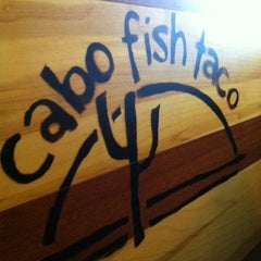 Photo taken at Cabo Fish Taco by Camillia M. on 4/15/2012