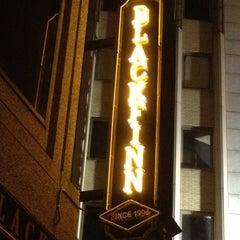 Photo taken at BlackFinn American Saloon by Justin H. on 10/27/2011