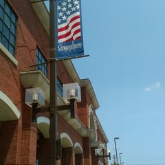 Photo taken at Greensboro Public Library by Kyle S. on 7/5/2012