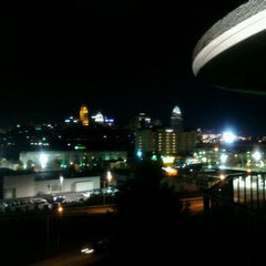 Photo taken at Radisson Hotel Cincinnati Riverfront by Bryan H. on 10/29/2011