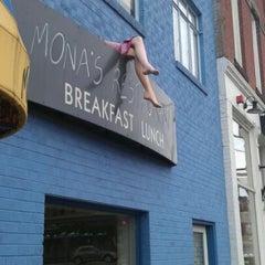 Photo taken at Mona's Restaurant by Tonatiuh R. on 1/15/2012
