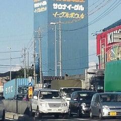 Photo taken at 知立イーグルボウル by Masakazu T. on 8/26/2012