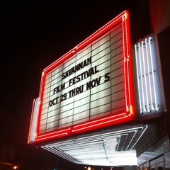 Photo taken at Trustees Theater by SCAD on 10/21/2011