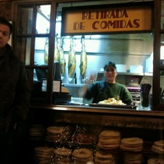 Photo taken at Taberna Almendro 13 by Adolfo S. on 1/2/2012