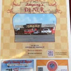 Photo taken at Longway's Diner by Travis C. on 8/15/2012
