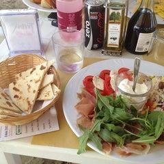 Photo taken at Villa Rosa - Bar Beach & Restaurant by Ilaria B. on 7/7/2012