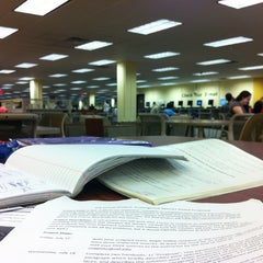 Photo taken at USF Library by Duaa B. on 7/26/2012