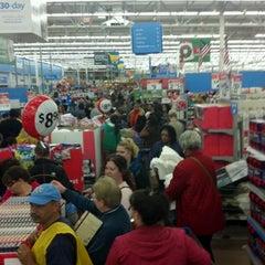 Photo taken at Walmart Supercenter by Tim A. on 11/25/2011