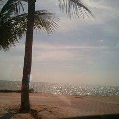 Photo taken at หาดวอนนภา (Wonnapa Beach) by nuey on 5/19/2012