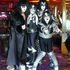 Photo taken at Hard Rock Hotel & Casino VIP Lounge by Shelley R. on 1/29/2012
