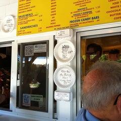 Photo taken at Eddie's Footlong Hotdogs by Richard B. on 7/22/2011