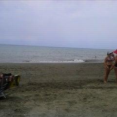Photo taken at Playa Rincón de la Victoria by Gustavo M. on 7/25/2012