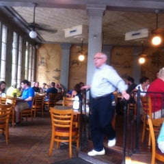 Photo taken at River's Edge Restaurant by Steve B. on 9/3/2011