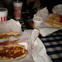 Photo taken at Portillo's by Jackie L. on 12/24/2011