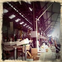 Photo taken at Eveleigh Market by jaddan b. on 12/24/2011