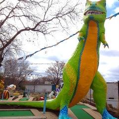 Photo taken at Peter Pan Mini Golf by Farrish C. on 1/11/2012