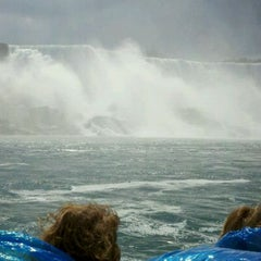 Photo taken at Maid Of The Mist - Canada entry by Andrea D. on 8/18/2011