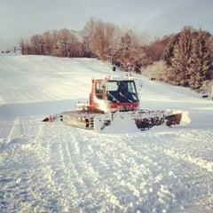 Photo taken at Boston Mills Ski Resort by Brent V. on 1/22/2012