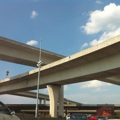 Photo taken at Spaghetti Junction (Tom Moreland Interchange) by Andre on 6/10/2011
