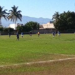 Photo taken at Canchas ejidal las juntas by Ramiro G. on 4/8/2012